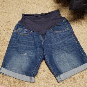 Maternity Bermuda shorts